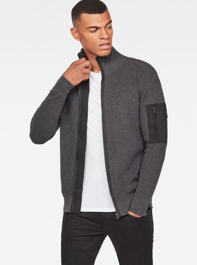 Powel Zip Through Knit