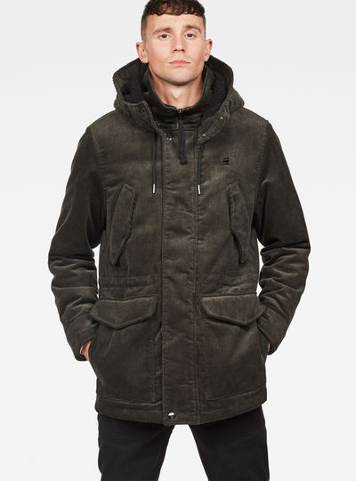 Vodan Teddy Padded Hooded Jacket