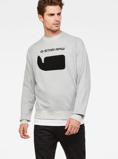 Revir Stor Raglan Sweat