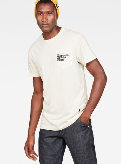 Graphic 5 Pocket T-Shirt