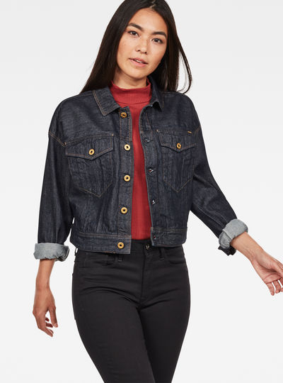 D-Staq Cropped Jacket
