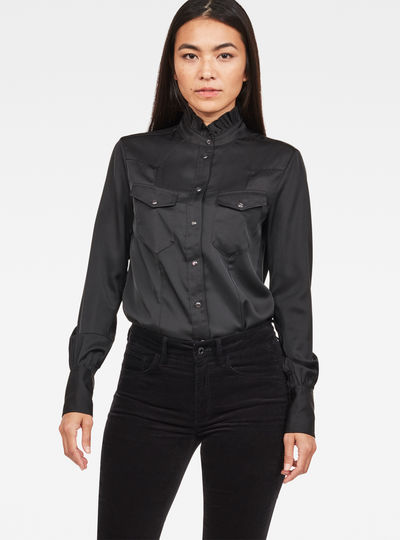 Tacoma Straight Frill Shirt