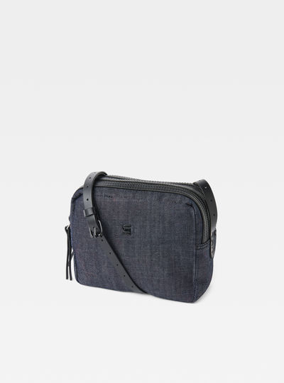 Mozoe Small Denim Shoulder Bag