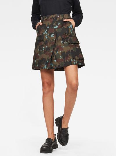 Vodan Wrap Skirt