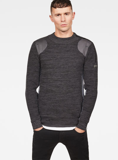 Battle Mock Turtle Knit