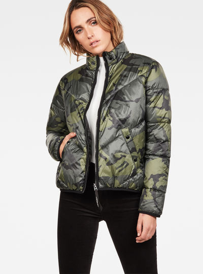 Strett Chevron Padded Jacket