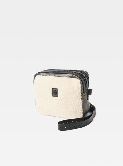 Mozoe Zandrai Leather Shoulder Bag