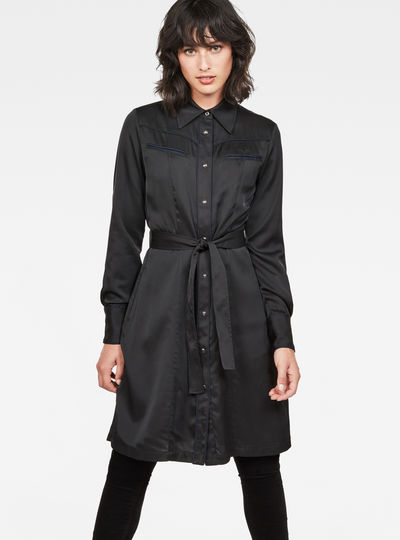 Tacoma Straight Flare Shirt Dress
