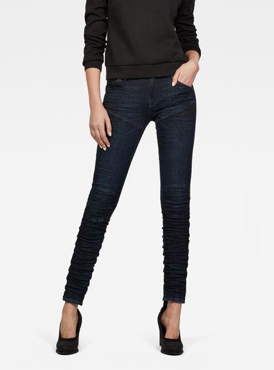 5620 Staq 3D Mid Waist Skinny Jeans