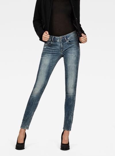 Lynn Mid Waist Skinny New Jeans