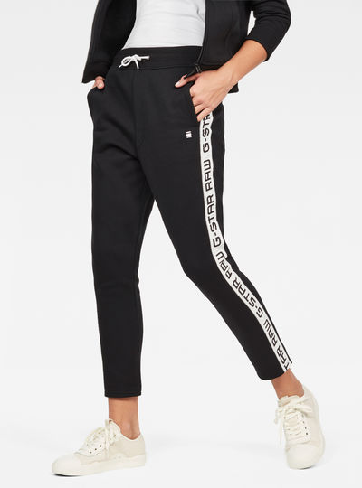 Satur Slim Cropped Sweat Pant