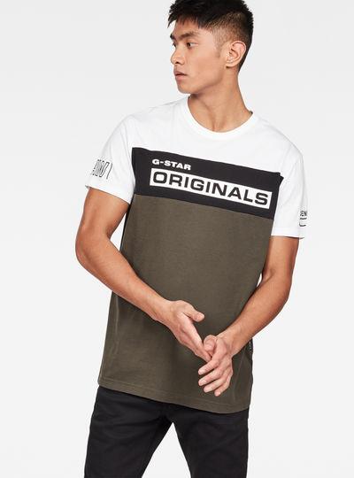 Swando Block Graphic Regular T-Shirt