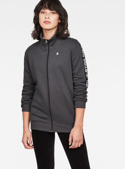 Satur Straight Zip Sweat