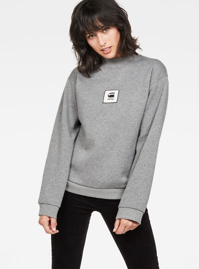 Bilbi Box Logo Funnel Sweat