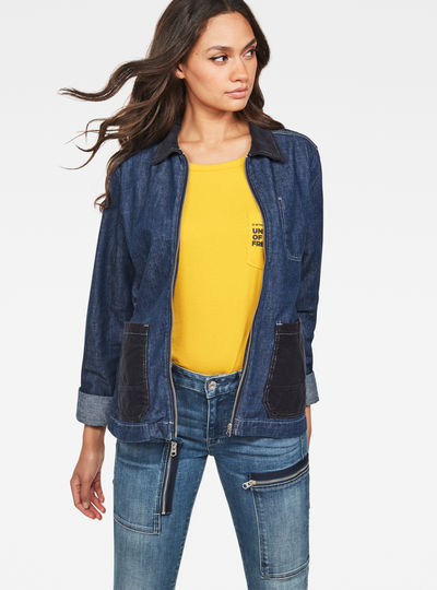 Blake Denim Overshirt