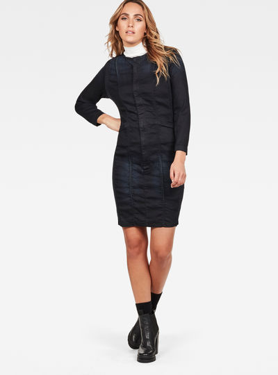Motac Slim Denim Dress