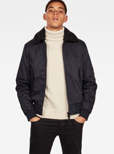 Rackam Flight  Teddy Padded  Bomber
