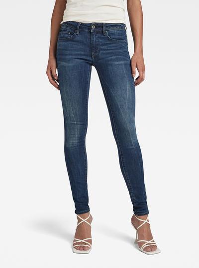 Midge Zip Mid-Waist Skinny Jeans