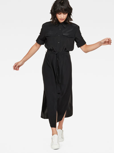 Rovic Long Shirt Dress
