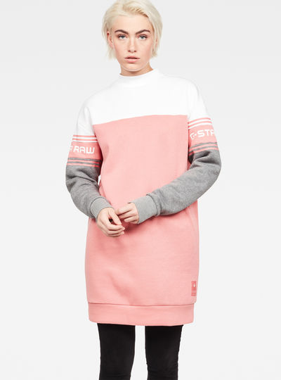 Bilbi Block Funnel Sweat Dress
