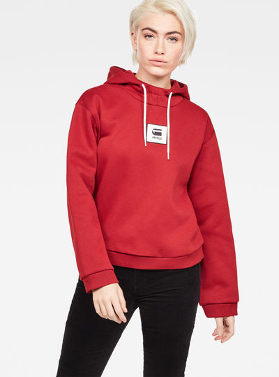 Bilbi Box Logo Hooded Sweat