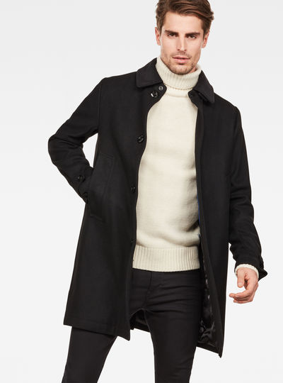 Garber wool overcoat
