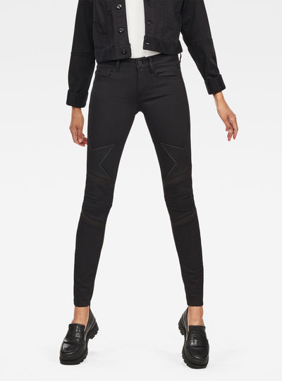 Motac Deconstructed 3D High Waist Skinny  Jeans