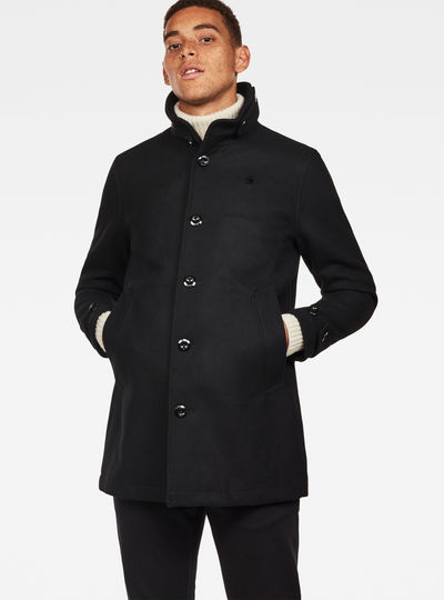 Garber Empral Wool Trench