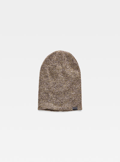 Effo Long Heather Beanie