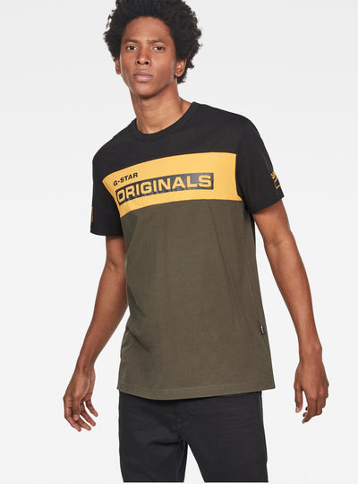 Swando Block Graphic Regular T-Shirt