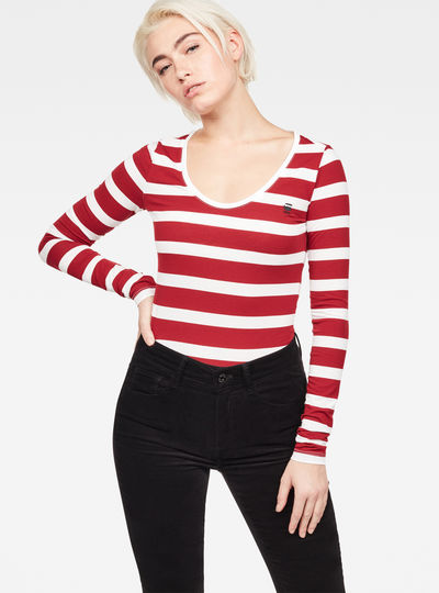 Base-S Stripe T-Shirt