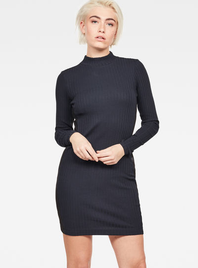 Staria Slim Turtle Dress