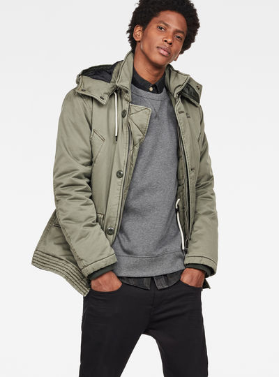 Vodan Caban Hooded Padded Jacket
