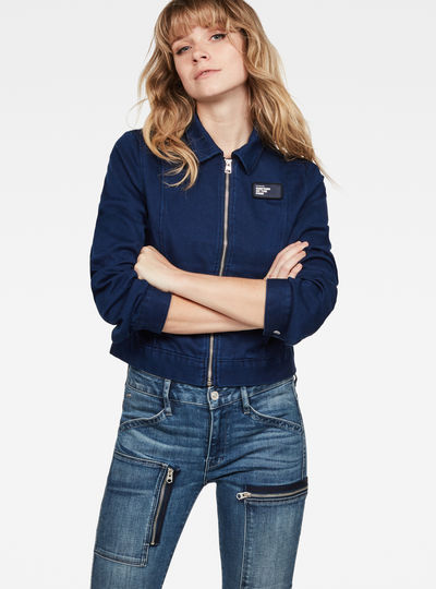 Workwear Cropped Jacket