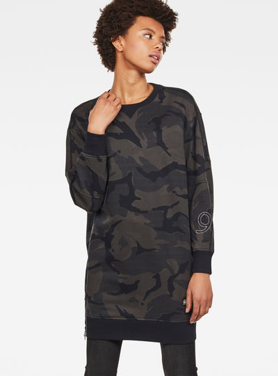 Lajla Ann Camo Sweat Dress