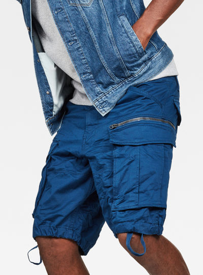 Rovic Zip Relaxed 1/2 Shorts