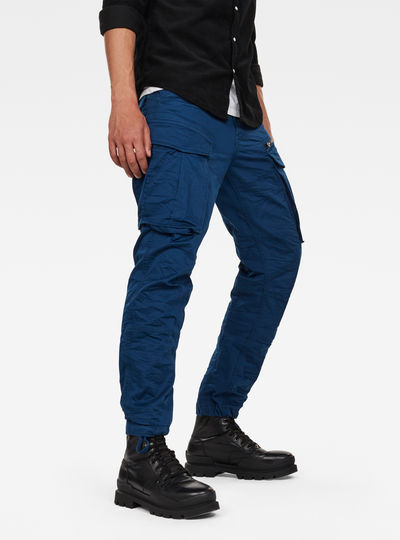 Rovic Zip 3D Straight Tapered Trousers