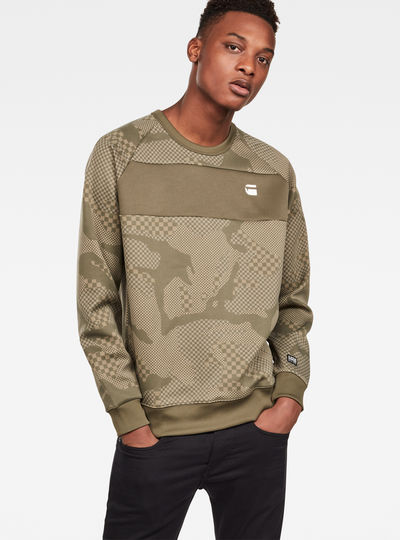 Rodis Camo Raglan Sweat