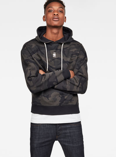 Stor Swando Ann Camo Hooded Sweat
