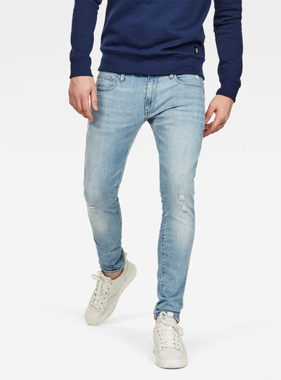 d56d5cd4e8ae 3301 Deconstructed Skinny Jeans