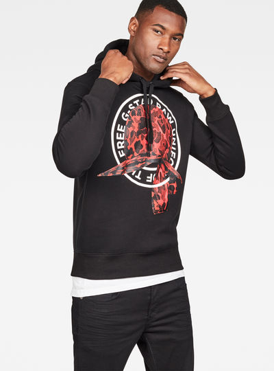 Graphic 30 Core Hooded Sweat