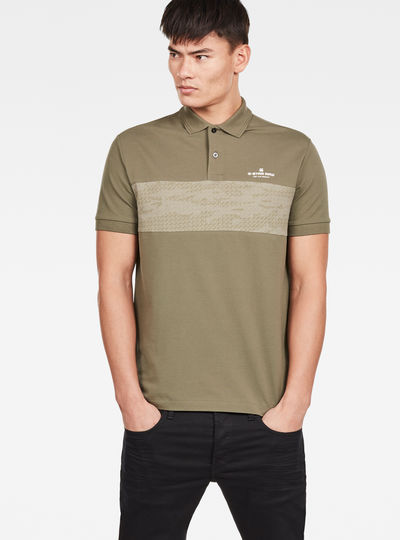 Shelo Graphic Block Polo