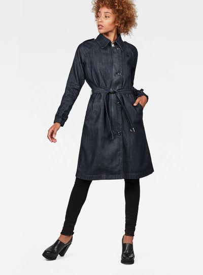 Minor Denim Classic Trench