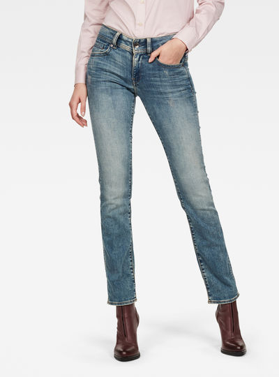 Midge Mid Straight Jeans