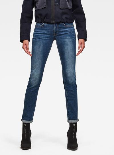Midge Saddle Straight Jeans