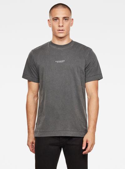 Reflective Logo Loose T-Shirt