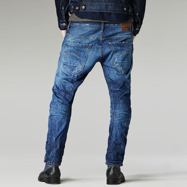 arc 3d slim jeans medium aged destroy men sale g. Black Bedroom Furniture Sets. Home Design Ideas
