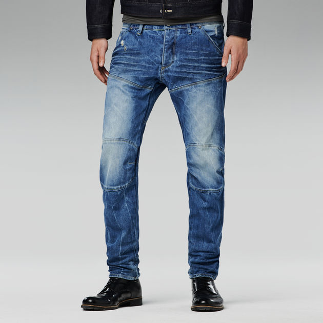 Mens 5620 3d Low Tapered Jeans G-Star