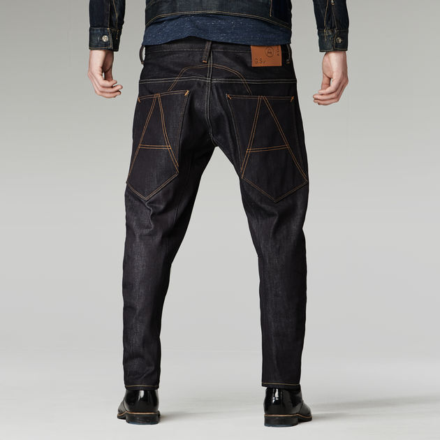 G-Star Men's A Crotch Tapered Jeans