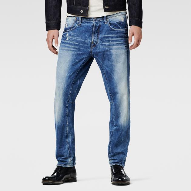 a crotch tapered jeans lt aged g star sale men g. Black Bedroom Furniture Sets. Home Design Ideas